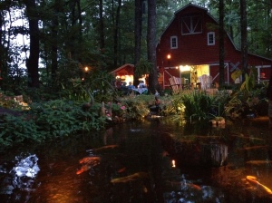 This BEAUTIFUL property is on the Moonlight Pond Tour! Come see what Outdoor living is all about.