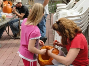 Have FUN carving an AWESOME pumpkin to take home!