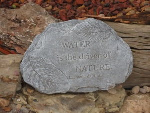 A Water Feature will change your life.