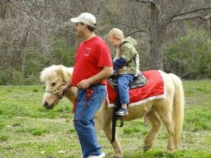 Kids LOVE the Pony ride.