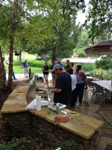 We will fire up the AOG Grill & cook lunch for everyone that comes!