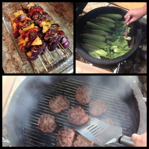 I'm gonna cook up some good stuff on my Saffire & AOG grills for lunch!