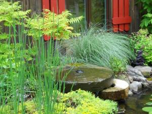 See unique Water Features on the Spring Pond Tour, with Carters Nursery, Jackson, Tn.