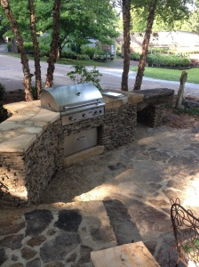 We are going to cook lunch on our AOG Grill and our Saffire Grill at Carters Nursery - Jackson, Tn.
