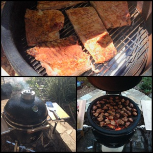 Were going to fire up the Saffire Grill and cook up something good!